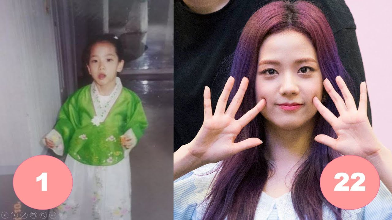Jisoo Blackpink Childhood From 1 To 22 Years Old Youtube