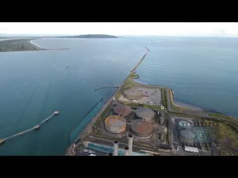 Dublin Poolbeg stock footage