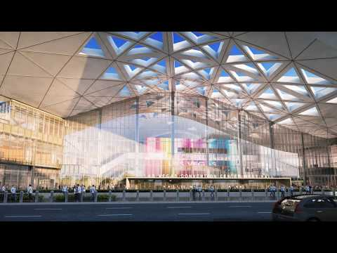 Las Vegas Convention Center Expansion Phase Two Flyover