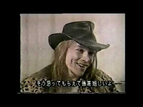 Axl Rose – Interview Tennessee 1987  Guns N' Roses