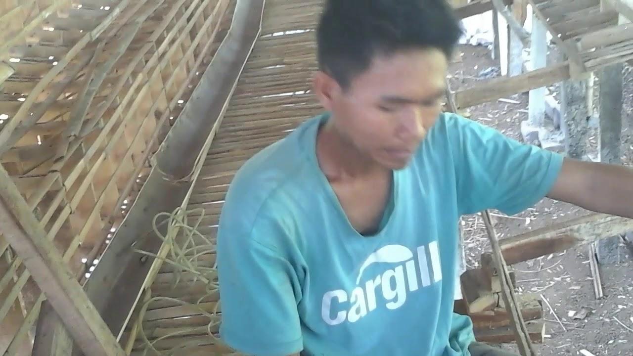 cara memasang pangkon kandang ayam#ujankgerandu - YouTube