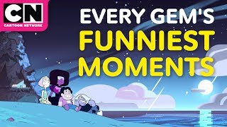 Steven Universe | Every Gem's Funniest Moments | Cartoon Network