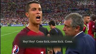 Ronaldo motivated Moutinho Take Penalty. HD 720p (Portugal Vs Poland)