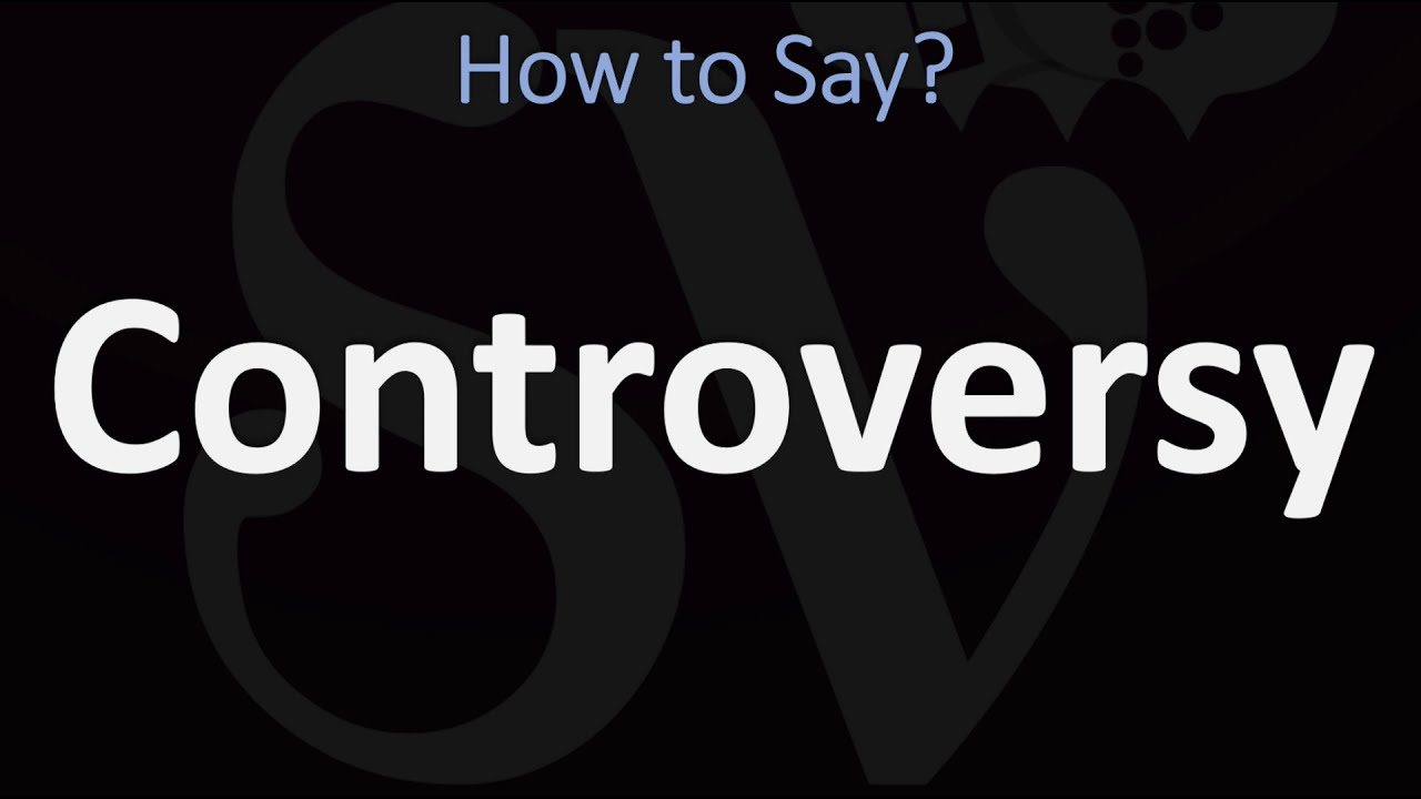 How to Pronounce Controversial? (CORRECTLY)