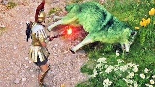 Assassin's Creed Odyssey #93: O Lobo Verde dos Campos Elísios (DLC)
