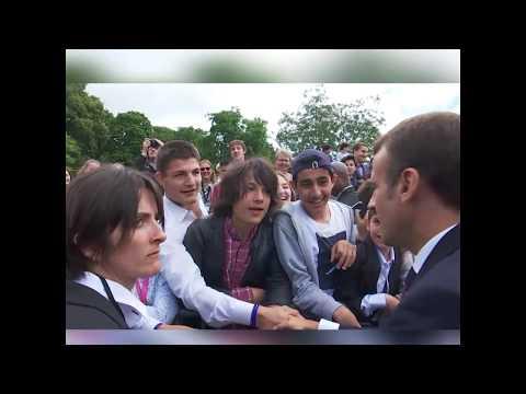 La bronca de Macron a un adolescente por llamarle 'Manu'