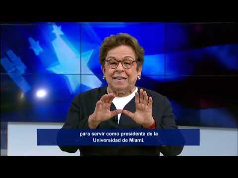 MegaTV: Conocer a Donna Shalala (Get to Know Donna Shalala)