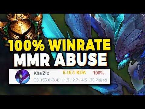 How this duo abused Riot's MMR system and went 79-0 in GOLD