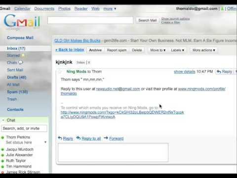 NingMods Mods Club - Contact Application