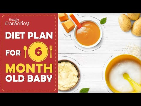 Diet Plan for a 6-Month-Old Baby