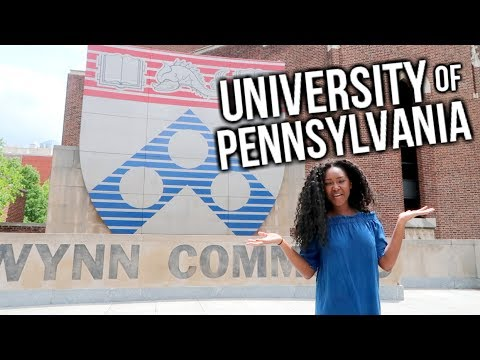 2017 TOUR OF UPENN| with the class of 2018 president