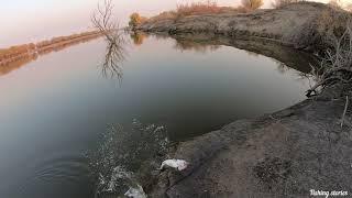 Астраханский капризный судак . Зачетная рыбалка в прекрасный осенний  день.