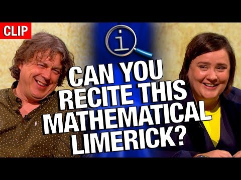 QI | Can You Recite This Mathematical Limerick?