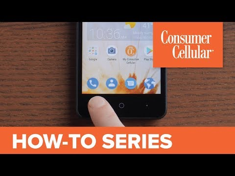 ZTE Avid 559: Tour of the Home Screen (2 of 17) | Consumer Cellular