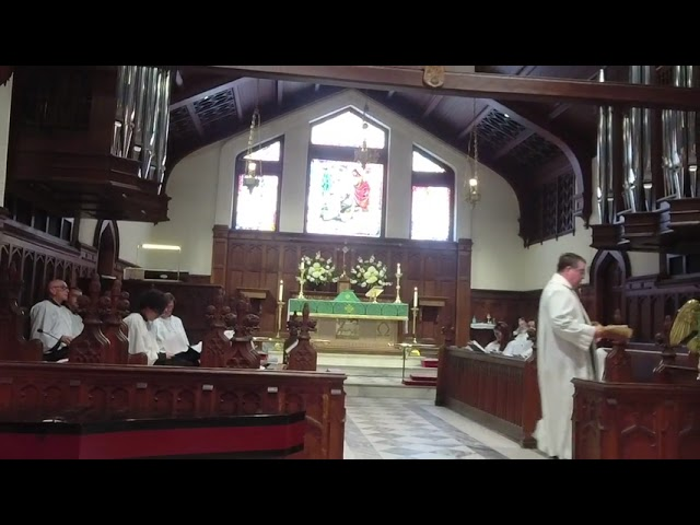 The Eighth Sunday after Pentecost July 18th, 2021
