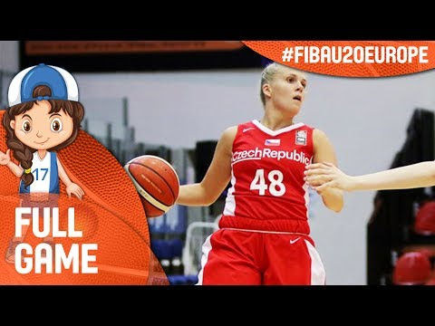 Czech Republic v Greece - Full Game - Cl 5-6 - FIBA U20 Women's European Championship 2017 - DIV B