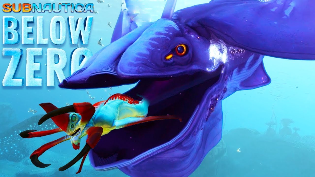 NEW GLOW WHALE LEVIATHAN & HOVER BIKE! | Subnautica Below