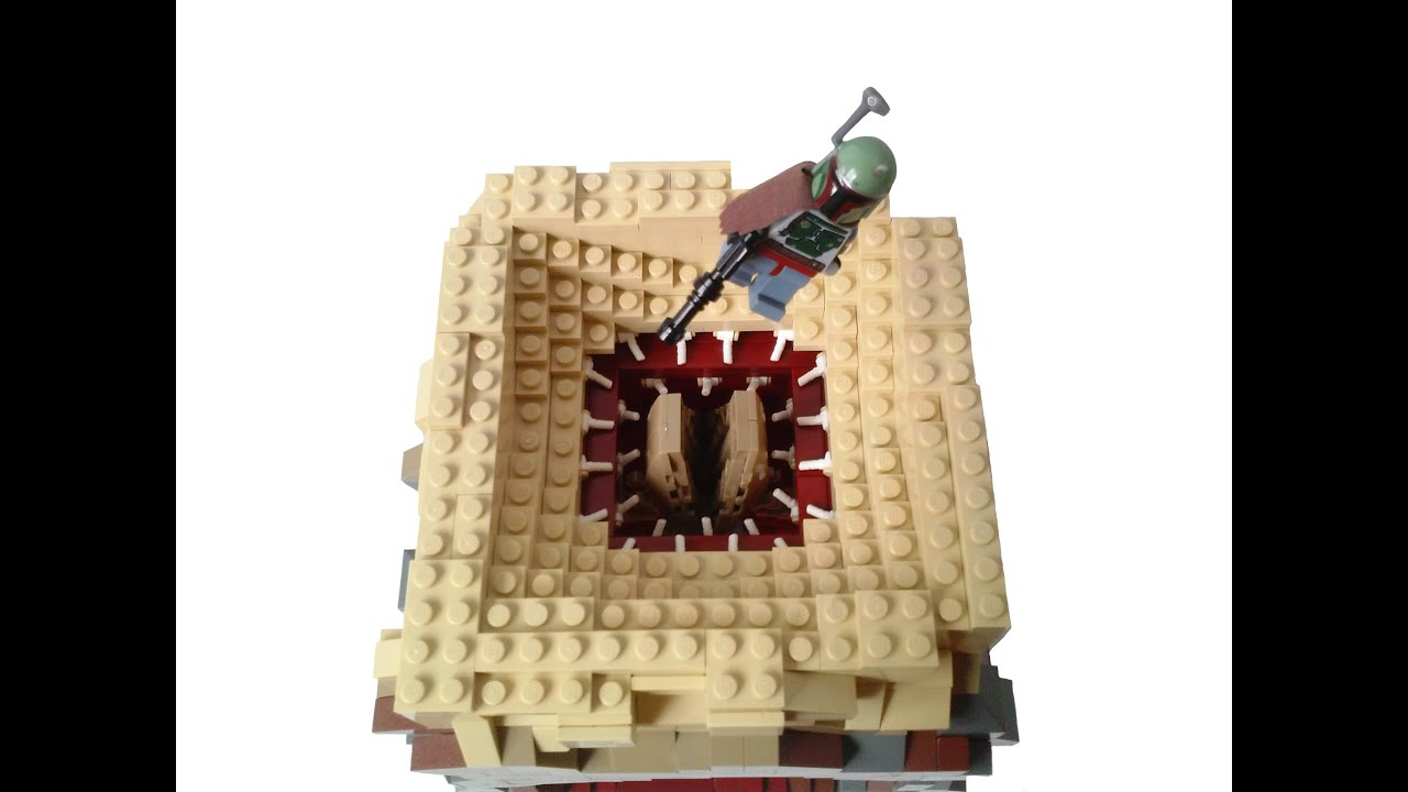Lego Star Wars Sarlacc Pit MOC (Subscriber's Request) - YouTube