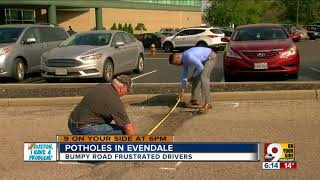Houston I Have a Problem Potholes in Evendale