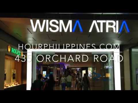 Wisma Atria Shopping Mall 435 Orchard Road Singapore by HourPhilippines.com
