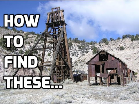 How To Find Abandoned Mines