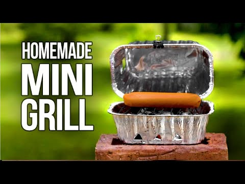 Homemade Tiny BBQ Grill