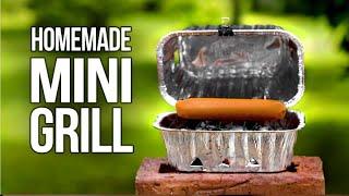 Homemade Tiny BBQ Grill