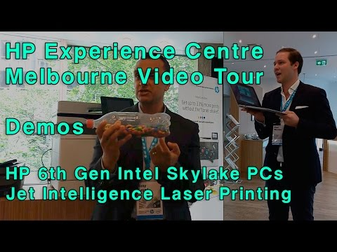 HP 6th Gen Core Intel Skylake PC & Jet Intelligence Printing Launch - Melbourne Experience Centre