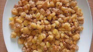 Cách làm ngô tẩm bột chiên vàng ngon  nhu the nao