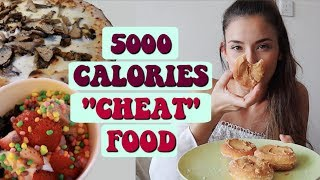 I ate 5000 CALORIES for a week *CHEAT FOOD day*