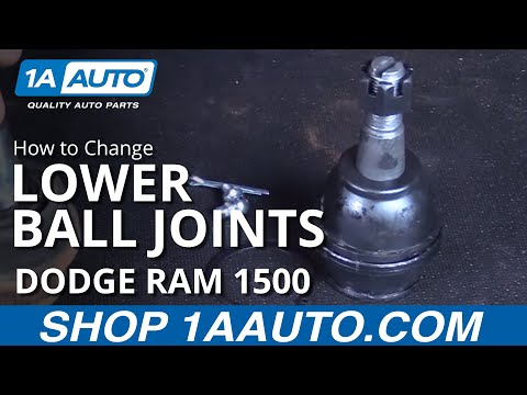 Brand New 2 Front Upper Control Arm Lower Ball Joints For 02-05 Dodge Ram 1500