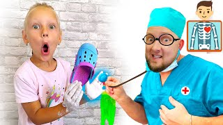 Коллекция новых и самых популярных серий про игрушки - Ястася и папа