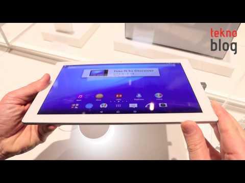 Sony Xperia Z4 Tablet Ön İnceleme