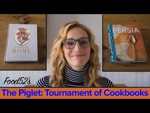 Food52's Piglet Tournament of Cookbooks: Tasting Rome vs. Taste of Persia