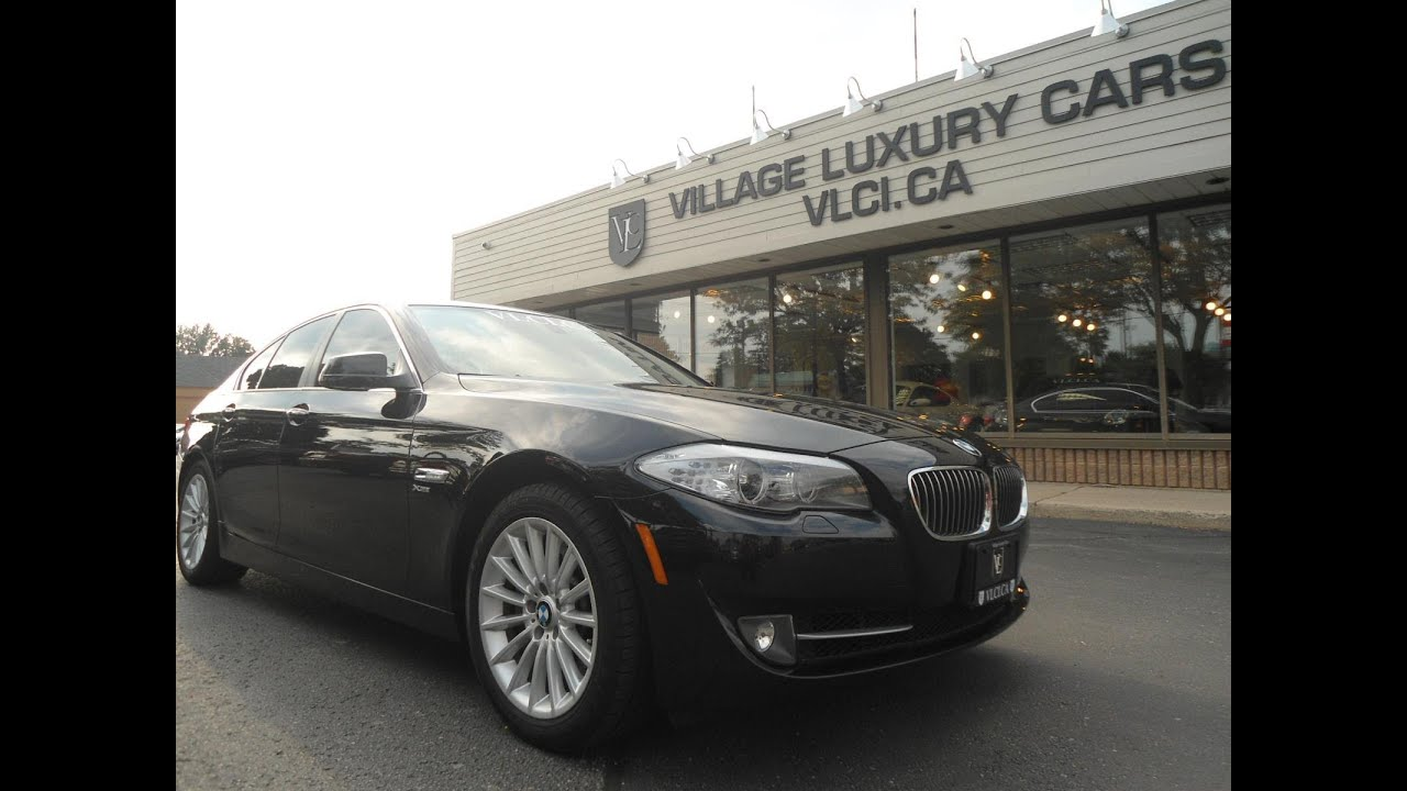 2011 bmw 535i xdrive in review village luxury cars toronto youtube. Black Bedroom Furniture Sets. Home Design Ideas