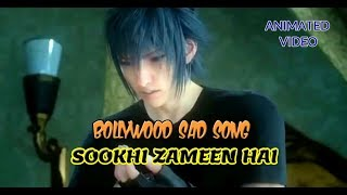 Sookhi zameen hai   Bollywood Sad full song   Hindi   Animated video   WIK Entertainment