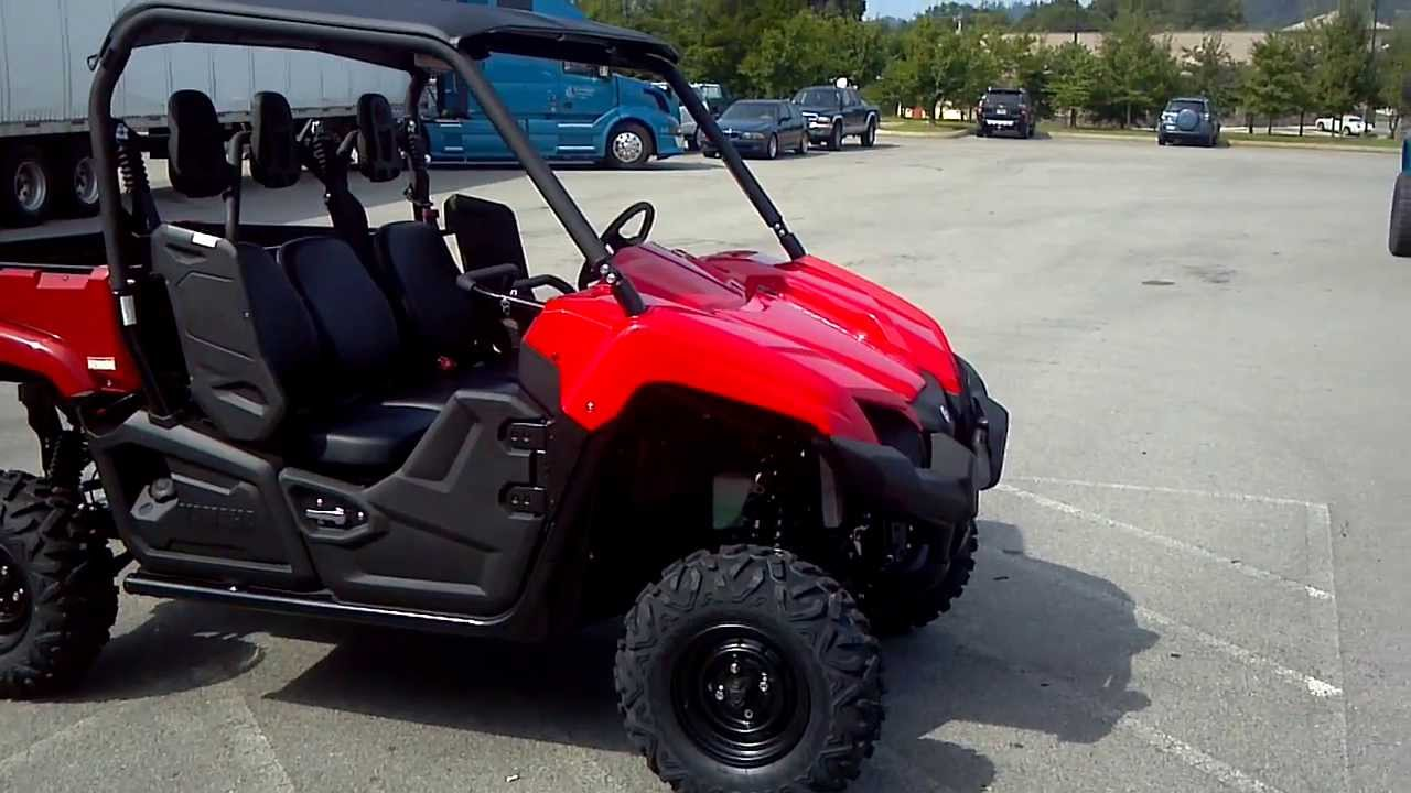 2014 yamaha viking 700 3 seater in red alcoa good times for Yamaha viking 3 seater