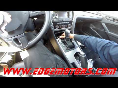 passat shifter interlock release parking gear release by Edge Motors