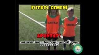 Futbol Femení al CFU Mira-sol Baco 2014-15