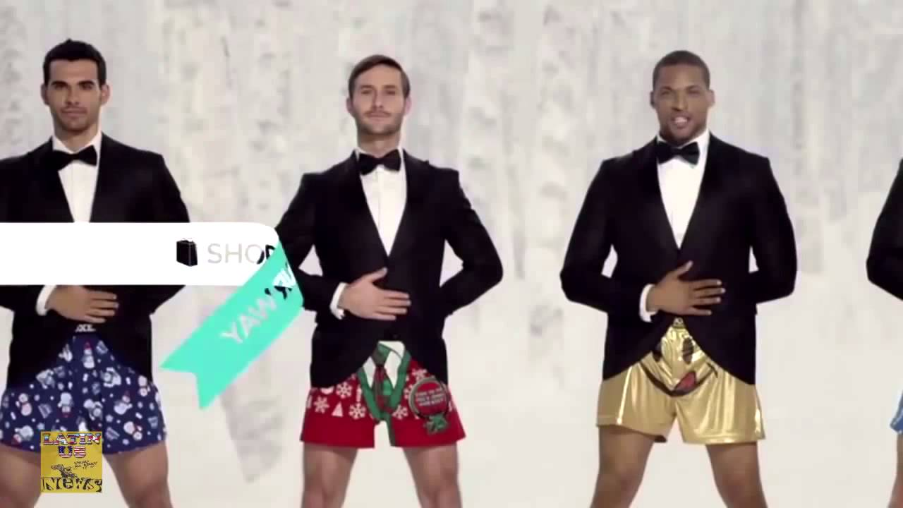 Enjoy Kmart Christmas Commercial 2013 | Show Your Joe Boxer - YouTube