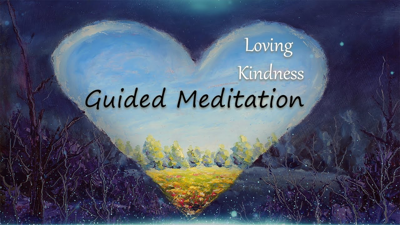 Loving Kindness Meditation, Guided Meditation, Stress Relief, Anti Anxiety, Release Negative Energy