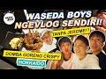 WASEDABOYS NGEVLOG SENDIRI TANPA JEROME!? NGAKAK | Waseda Boys Trip #25