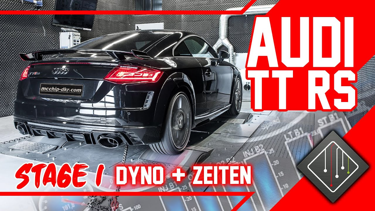 Audi TT RS 8S Stage 1 | Chiptuning - Dyno - 100-200 km/h ...