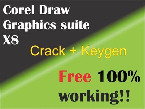 Corel Draw Graphics Suite X8 With Keygen 2018