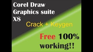 Gambar cover Download Corel Draw X8 Graphics Suite With Keygen 2018