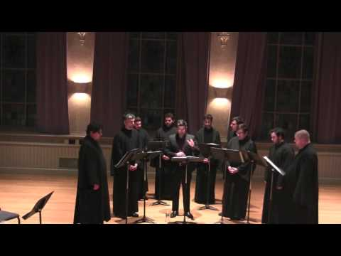 Psaltikon performs Byzantine Chant for Passion Week at Holy Cross