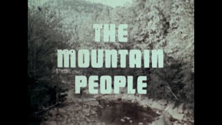 1970, THE MOUNTAIN PEOPLE, SOUTHERN APPALACHIA