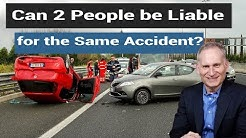 Joint and several liability - Who is at fault for a multi vehicle accident