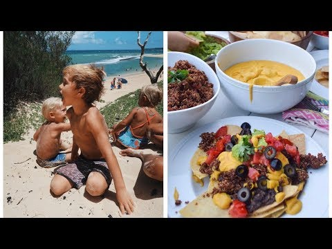 A day in our Hawaii Life | VEGAN NACHOS