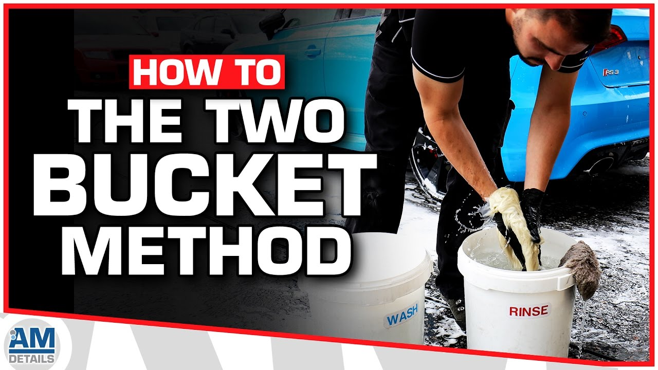 what is the two bucket wash method